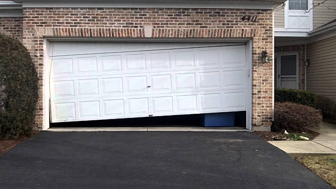 a home that used garage door repair services